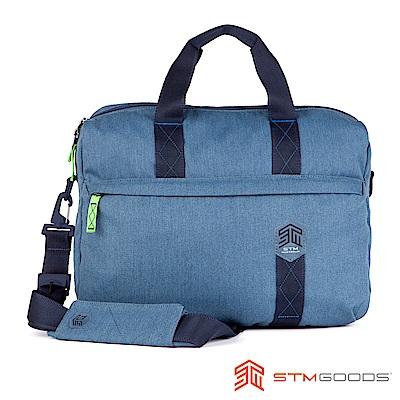 澳洲STM Judge 15吋手提側背兩用包 - 瓷釉藍