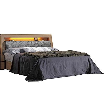 品家居  蒂瑪 6 尺雙人加大床台組合(不含床墊)- 188 . 2 x 213 . 8 x 97 cm免組