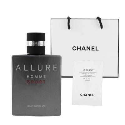 CHANEL香奈兒 ALLURE男性運動香水50ml 極限版 贈提袋及美妝小物