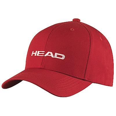 HEAD奧地利 素面可調式 運動帽/棒球帽/遮陽帽-紅(2入) 287292