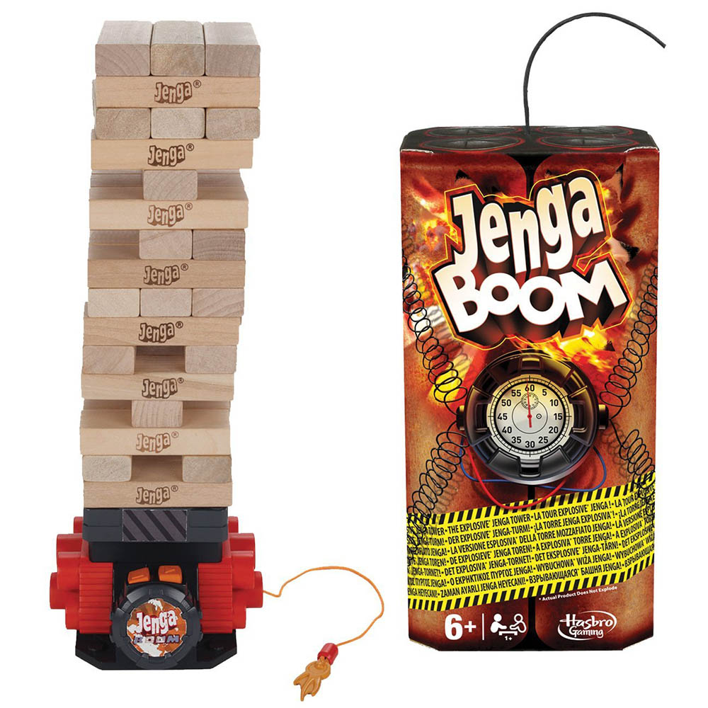 孩之寶Hasbro 兒童益智玩具Jenga Boom爆炸層層疊(疊疊樂)