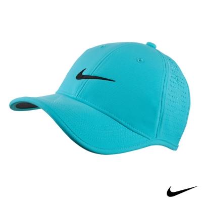 NIKE GOLF 可調整 復古 老帽 素面運動帽-藍727034-429