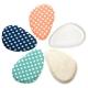 任選-足的美形 彩點系列-前掌布面矽膠墊(1雙) product thumbnail 1