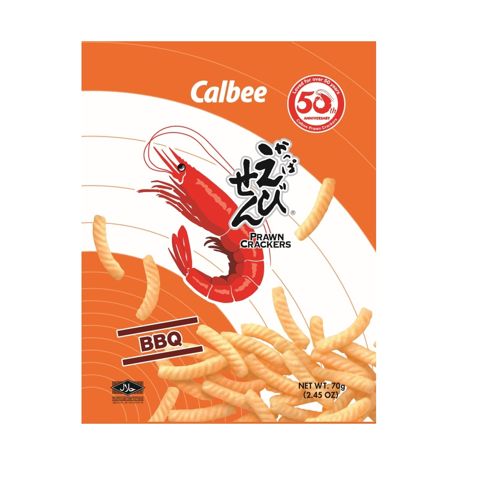 卡樂比Calbee加卡比鮮蝦條-碳烤味70g