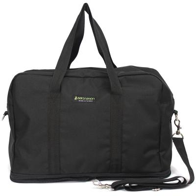 aaronation 愛倫國度 - 肩背/手提旅行兩用袋AN-1525-黑