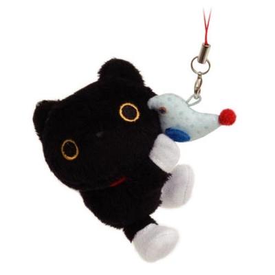 小襪貓禮物絨毛吊飾-玩具鳥