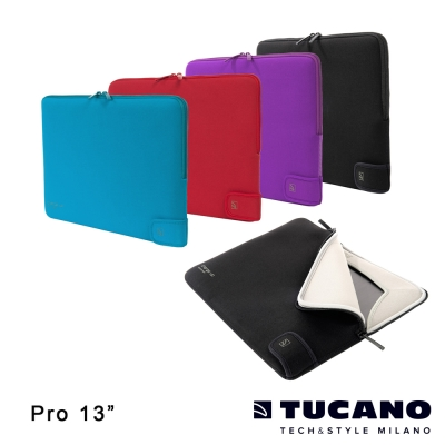 TUCANO Charge_up MB Air/ Pro 專用雙重防震內袋13吋