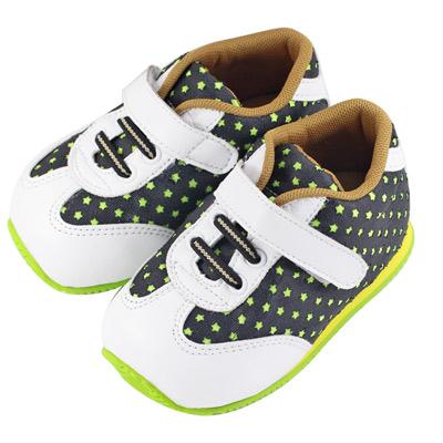 Swan天鵝童鞋-滿天星機能學步鞋 1452 -黑