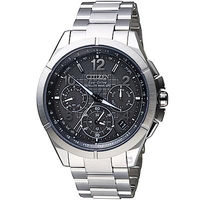 CITIZEN星辰衝鋒時機GPS衛星對時鈦金屬腕錶(CC9070-56H)
