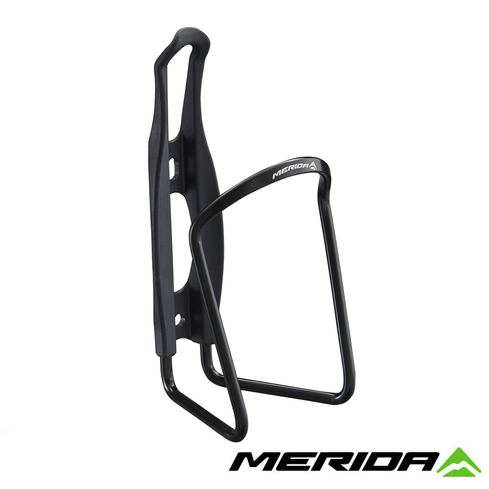 《MERIDA》美利達 2124003290 鋁合金+塑鋼水壺托架 黑 台灣製造