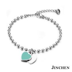 JINCHEN 白鋼永恆的愛手鍊