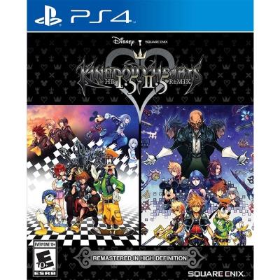 王國之心 HD 1.5+2.5 ReMIX - PS4 英文美版
