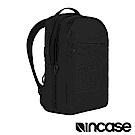 INCASE City 格紋耐磨城市雙層後背包(晶鑽黑/17吋內筆電適用)