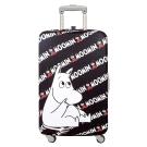 LOQI 行李箱保護套-Moomin 嚕嚕米(M號 適用22-27吋行李箱)