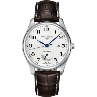 LONGINES浪琴 Master 巨擘系列動力儲存顯示機械錶-41mm