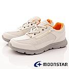 日本Moonstar戶外健走鞋-抗菌柔軟系列-16028米黃(女段)
