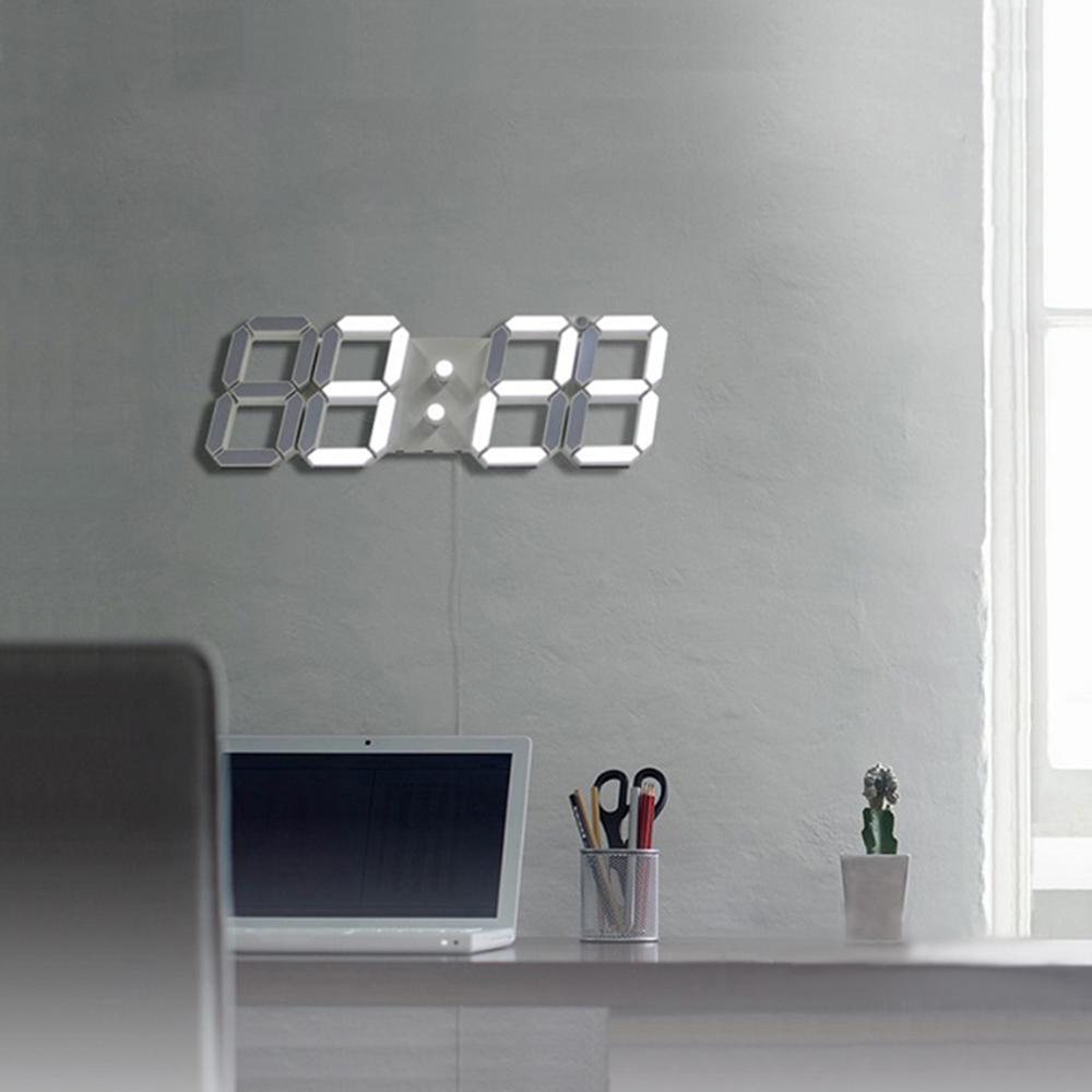 3D LED立體數字鐘(大款) 電子時鐘 鬧鐘 掛鐘