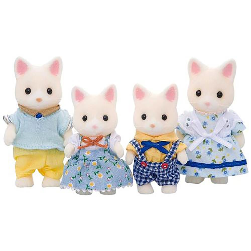 EPOCH 森林家族-牛奶貓家庭組
