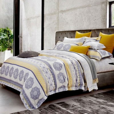 Lily Royal 天絲 六件式兩用被床罩組 加大 電影式