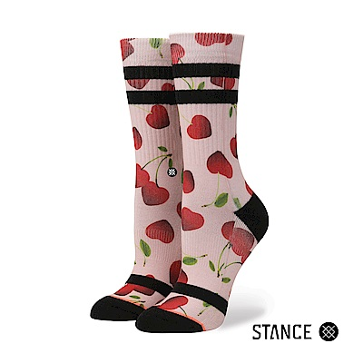 STANCE CHERRY BOMB-女襪-休閒襪-情人節設計款