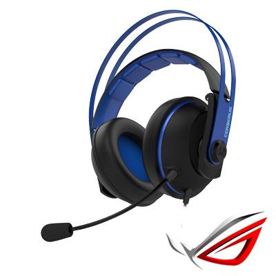 ASUS Cerberus V2 賽伯洛斯電競耳機麥克風-藍