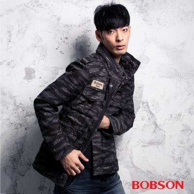 BOBSON  男款迷彩合身外套
