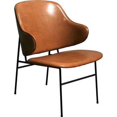 YOI傢俱 柏克斯休閒椅(棕色)YBO-179B