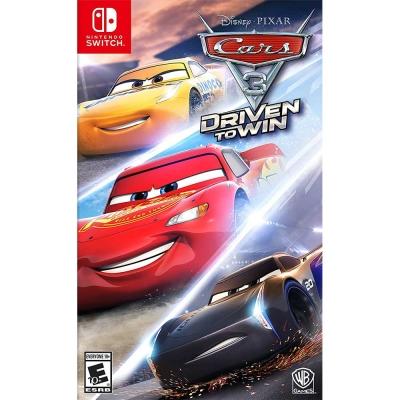 汽車總動員 3:全力取勝 Cars 3-Nintendo Switch 英文美版