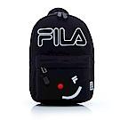 FILA #FUN開心 小型雙肩背包-黑BPS-1101-BK