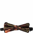 OBHOLIC 迷彩牛皮領結