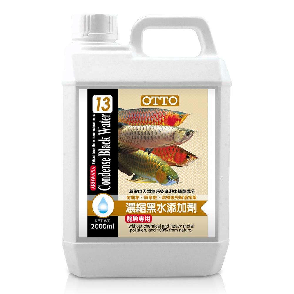 OTTO奧圖 龍魚專用濃縮黑水營養添加劑 2000ml x 2