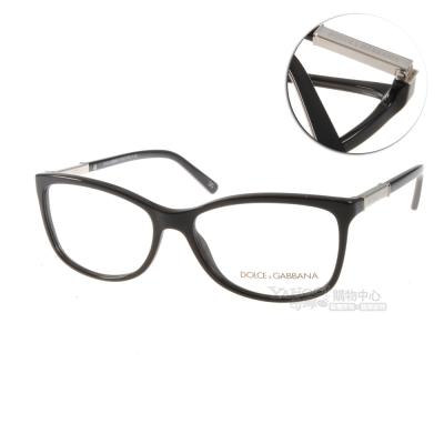 DOLCE&GABBANA眼鏡 性感貓眼復古系列/黑#DG3107 501