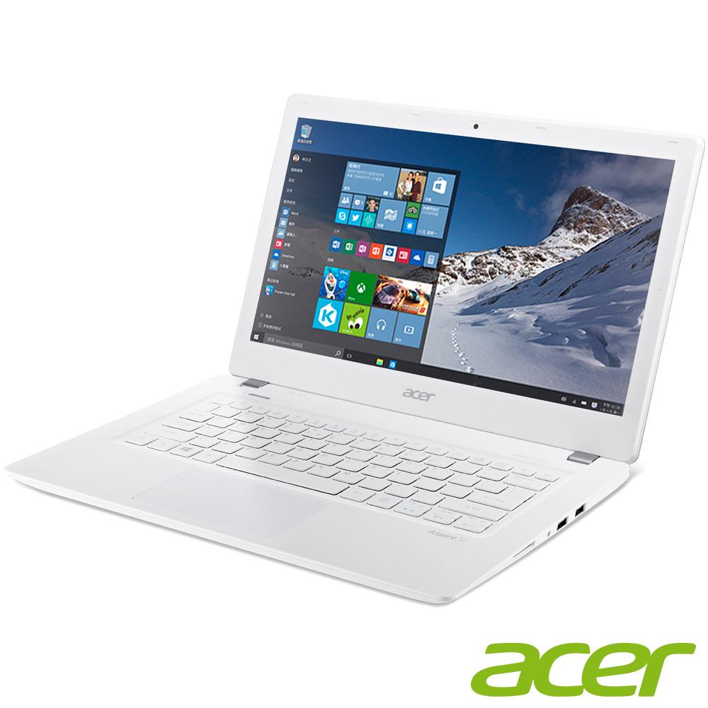 acer V3-372-P1GH 13吋筆電 (P-4405U/4G/128G/白
