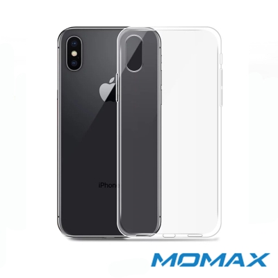 Momax 摩米士 Apple iPhone X 透明輕薄保護殼