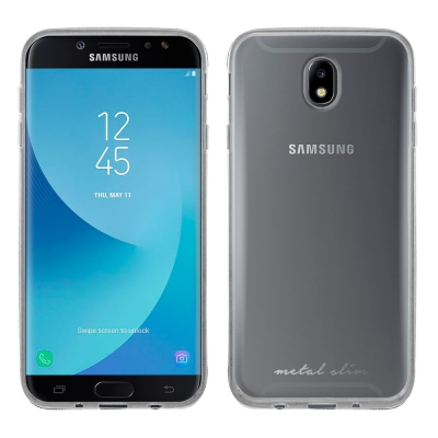 Metal-Slim Samsung GALAXY J7 Pro 時尚超薄TPU...