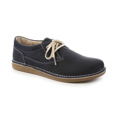 勃肯BIRKENSTOCK 406531曼非斯休閒鞋(深藍)30-34