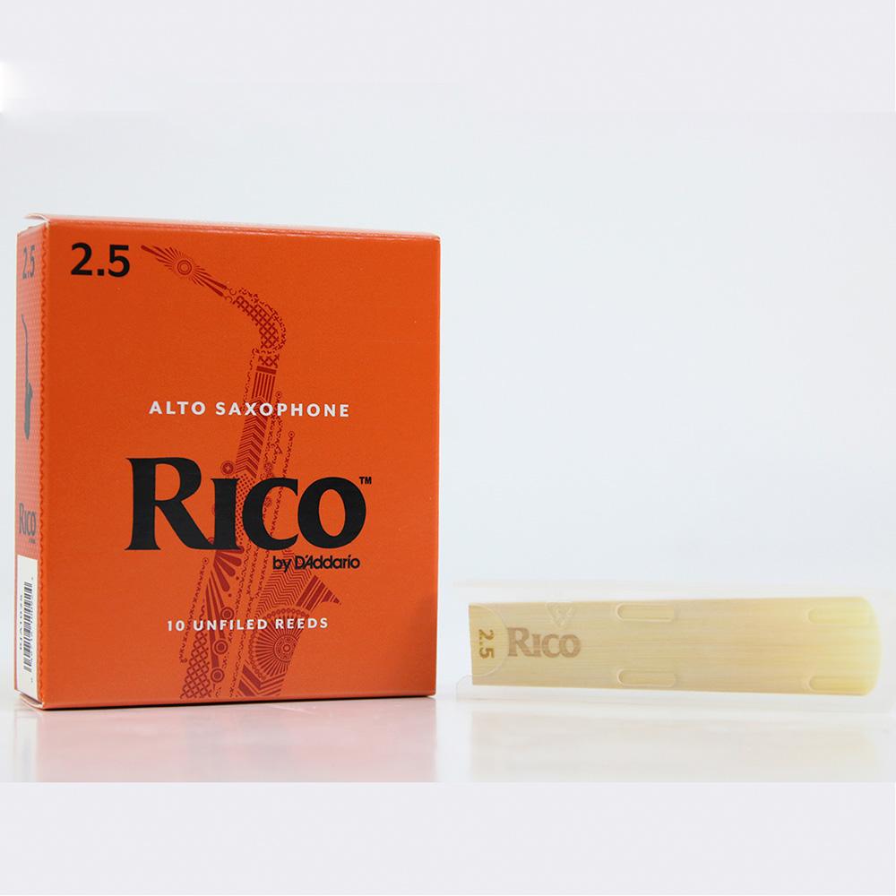 RICO RCWR-RI-A-25 2.5號中音薩克斯風竹片 五片出貨款