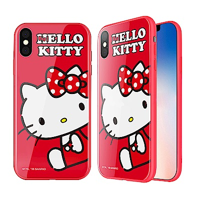 iStyle iPhone X Hello Kitty 坐姿手機殼