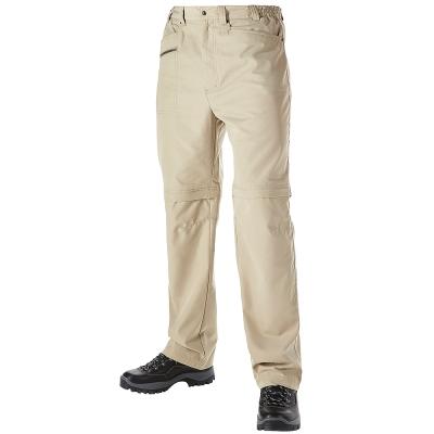 【Berghaus 貝豪斯】男款防潑水抗UV兩截褲S08M01-卡其