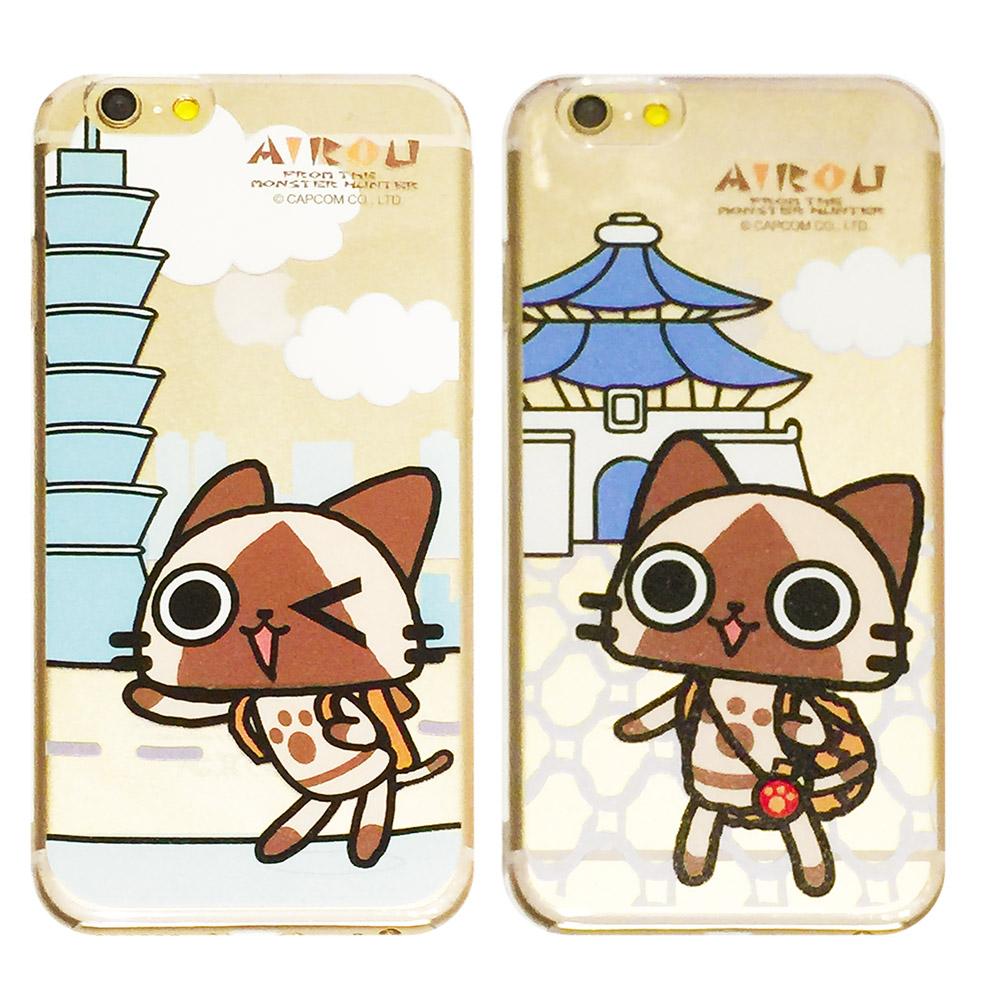 MOLANG iPhone6 PLUS 5.5吋 日本艾路貓AIROU透明手機殼
