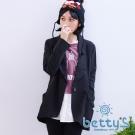 betty's貝蒂思 剪裁立體西裝外套(黑色)