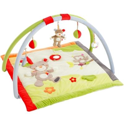 德國NUK絨毛玩具-歡樂叢林立體遊戲墊