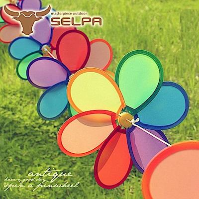 韓國SELPA 繽紛飾品-花朵串旗/掛旗(8P) 9入組