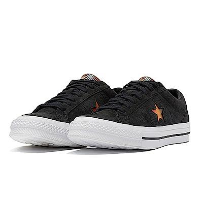CONVERSE-ONE STAR男女閒鞋160339C-黑