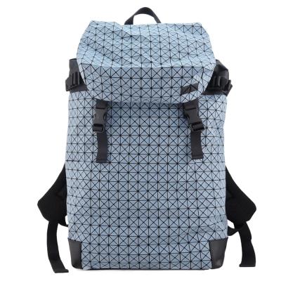 ISSEY MIYAKE 三宅一生BAOBAO幾何霧面翻蓋機能後背包(水藍)