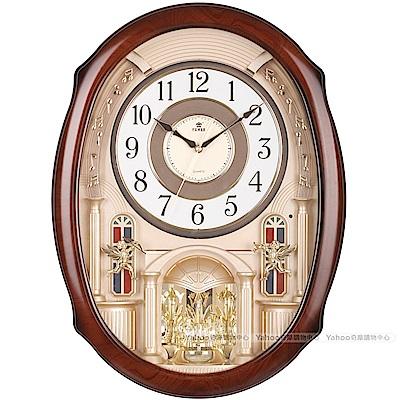 POWER霸王鐘錶-歐洲樂隊音樂鐘-華麗金-PW-6251-JRMKS1-57.5CM