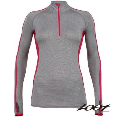 ZOOT頂級極致型潮風抗寒半拉式護手上衣(女)(蜜紅)Z1504033