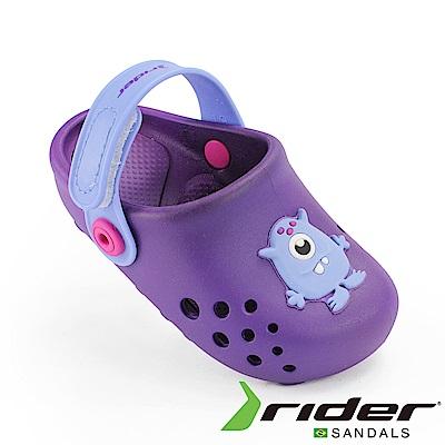 RIDER 巴西-幼童 布希鞋 LUNAR 紫色
