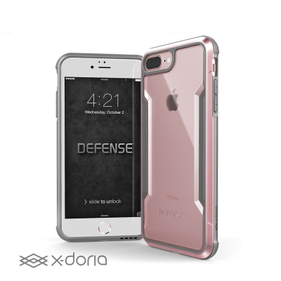 X-Doria iPhone 7/8 plus 刀鋒極盾系列防摔手機殼 - 玫瑰...