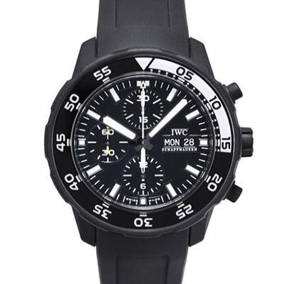 IWC 萬國錶 Galapagos Edition 加拉帕哥斯計時潛水腕錶-黑/47mm